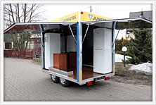Catering trailer manufacturer