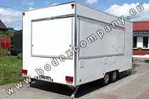 Production of catering trailers