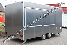 Producer of trailers with stainless steel