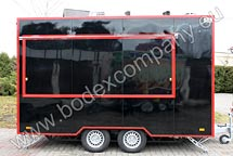 Manufacturer of catering trailers Bodex