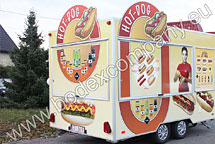 Producer of hot dog trailers