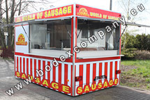 Trailers for grilled sausage