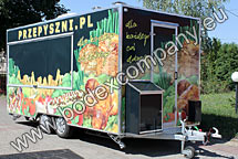 Manufacturer of fast food trailers