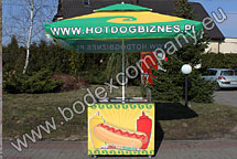 Stoisko do hot dogów